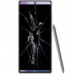 Réparation écran cassé vitre fissuré Samsung Galaxy Note 20