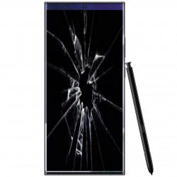 Réparation écran cassé vitre fissuré Samsung Galaxy Note 20 Ultra