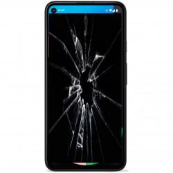 Réparation écran cassé vitre fissuré Google Pixel 4A