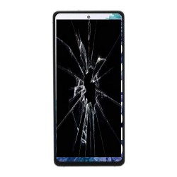 Réparation écran cassé vitre fissuré Galaxy S20 FE 5G G781B