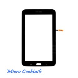 Vitre Tactile Blanche Galaxy Tab 3 Lite 7 T110 Blanc avec autocollant
