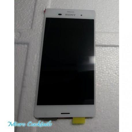 Eran lcd Vitre tactil assemblé Sony Xpéria Z3 Blanc