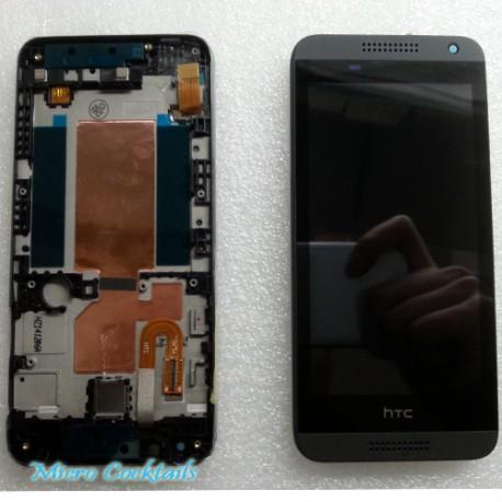 HTC Désire 610 Ecran LCD avec Vitre Tactile sur Chassis Noir