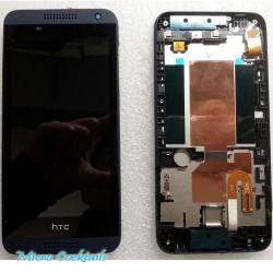 HTC Désire 610 Ecran LCD avec Vitre Tactile sur Chassis Bleu