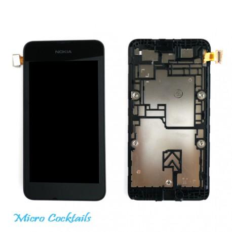 Nokia Lumia 530 Ecran Lcd Vitre Tactile avec Chassis